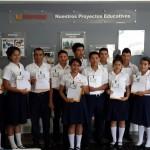 15 alumnos Mano Amiga reciben Becas de la empresa INDUFOAM
